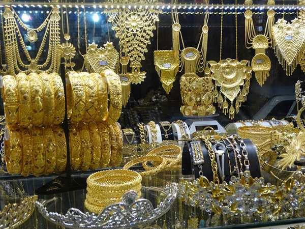 طلای زیاد