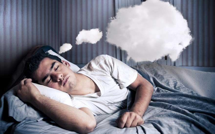 حوابیدن مرد