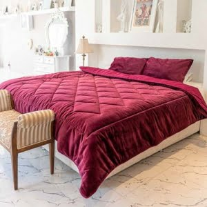 لحاف رو تختی لومانا مدل ولوت- فروشگاه آنلاین کالا خواب