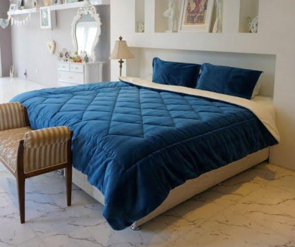 سرویس لحاف رو تختی لومانا مدل ولوت- فروشگاه آنلاین کالا خواب