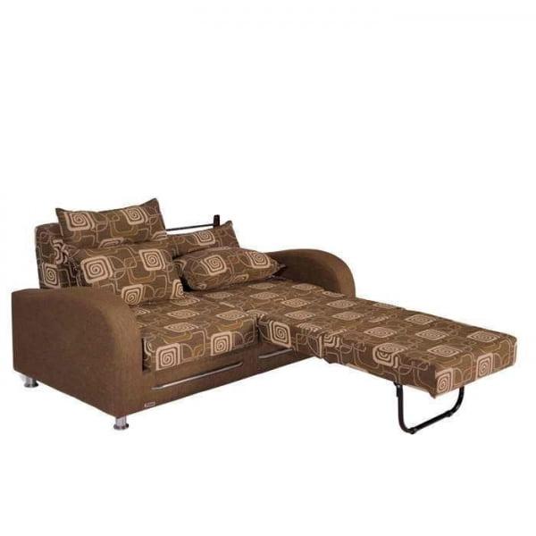 مبل تختخواب شو دو نفره مدل بيضي- خوابستان