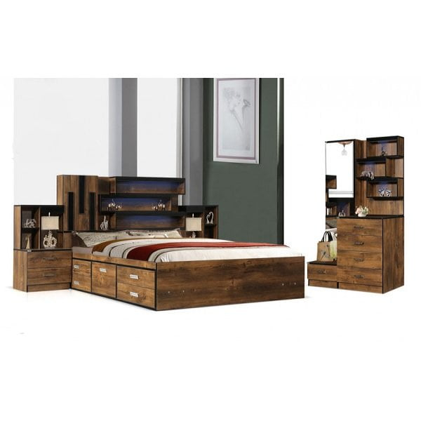 تخت و سرویس خواب مدل رزا- خوابستان