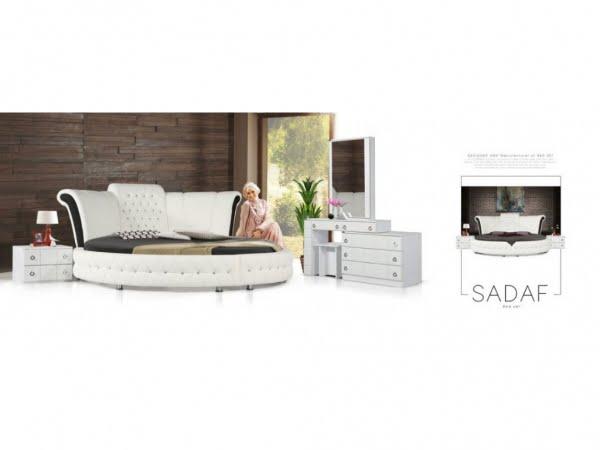 تخت و سرویس خواب مدل صدف- خوابستان