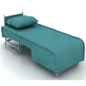 مبل تختخواب شو یک نفره مدل ریلی بدون دسته- خوابستان