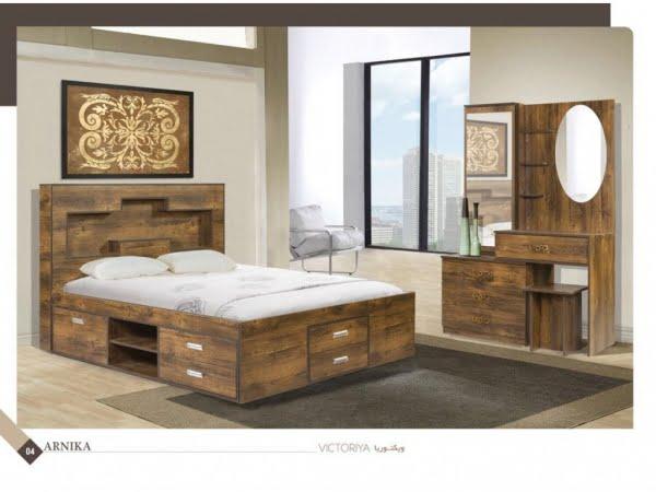 تخت و سرویس خواب مدل ویکتوریا- خوابستان