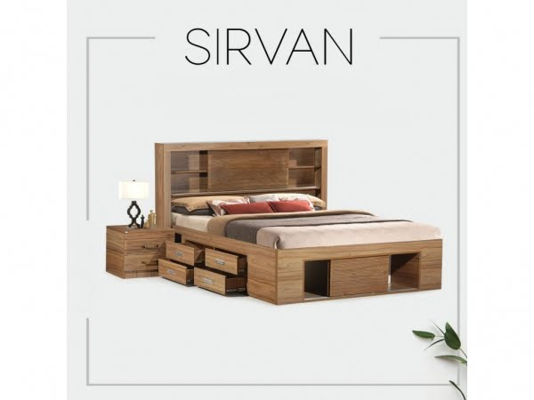 2 15 600x450 - سرویس خواب ساده و شیک؛ مدل سیروان