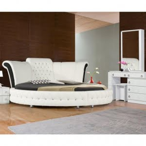 2 18 300x300 - سرویس خواب با تخت گرد؛ مدل صدف