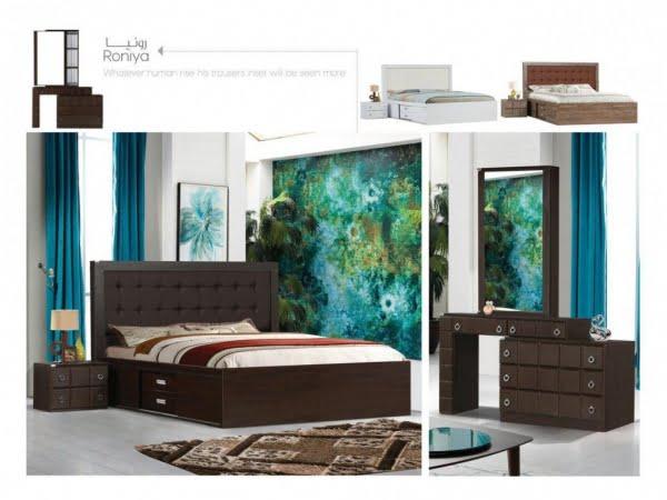 تخت و سرویس خواب مدل رونیا